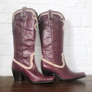 Vintage Nine West Cowboy Boots